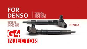 4 X Inyector Denso 23670-0E010